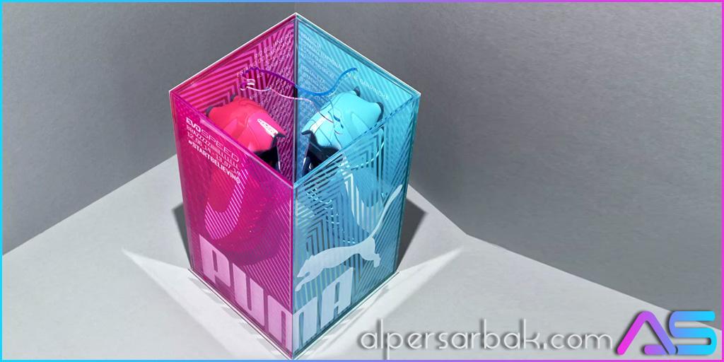 yaratıcı ayakkabı kutusu tasarımı, yaratıcı ayakkabı kutusu, ilginç ayakkabı kutusu, farklı ayakkabı kutusu,