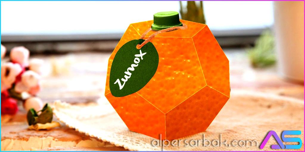 yaratıcı portakal suyu ambalaj tasarımı, portakal suyu kutusu, portakal suyu şişesi, ilginç portakal suyu,